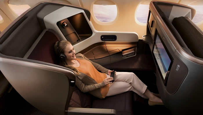 singapore airlines business seats